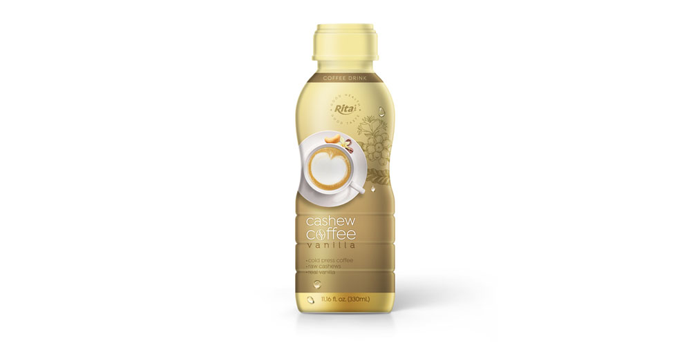 Cashew Coffee vanilla in 330ml PP Bottle