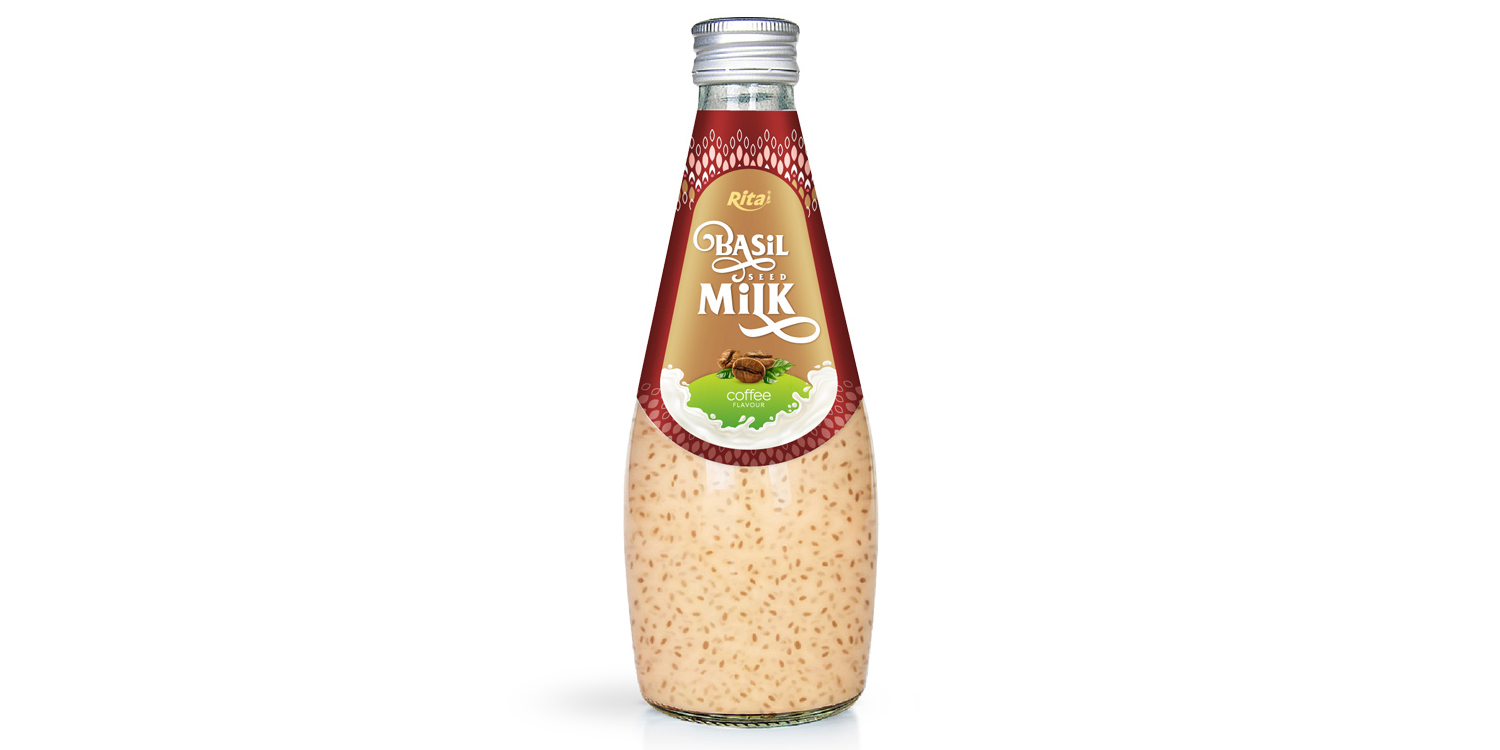 Coffee basil seed milk 290ml