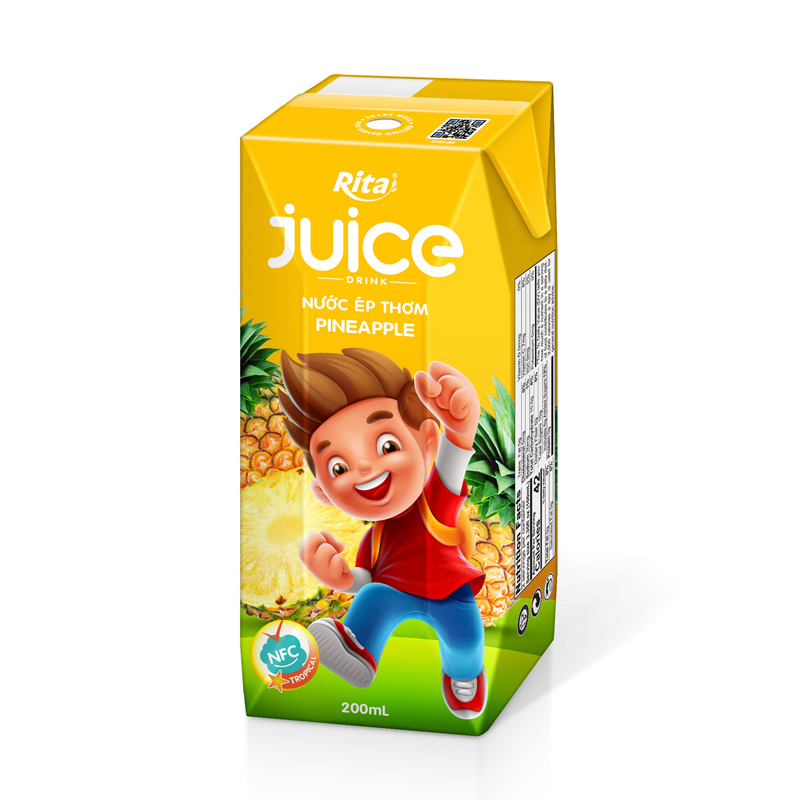 Paper Box 200ml Yoghurt With Juice Drink