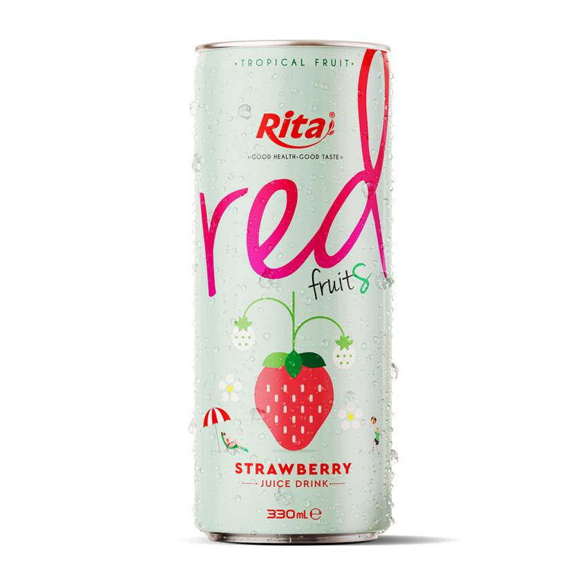 330ml Strawberry Fruit Juice Drink