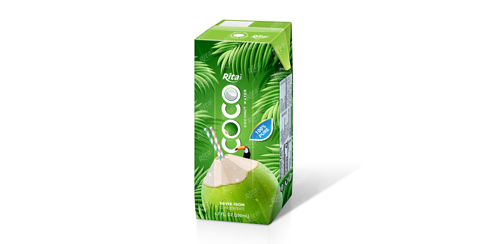 Beverage Supplies Coco water 200ml Aseptic packing