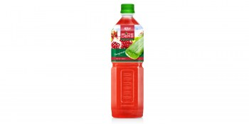 Aloe vera  with pomerganate  flavor from RITA beverages