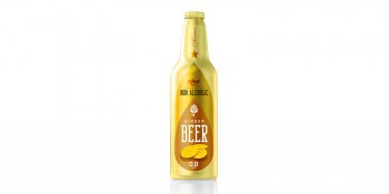 Aluminum Bottle 355ml ginger Beer Non Alcoholic