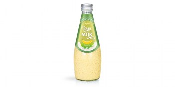 Basil seed Milk with banana from RITA UK