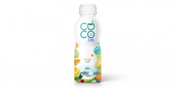 Coconut water fresh with orange from RITA UK