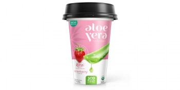 PP-cup-330ml_aloe vera with strawberry
