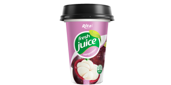 fresh mangosteen juice in pp cup 330ml
